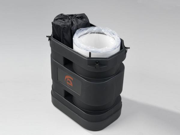 Roto-molded Case with Wheels (without lid)