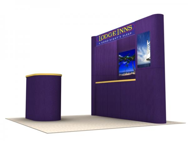 FF-105 Trade Show Fabric Panel Exhibit