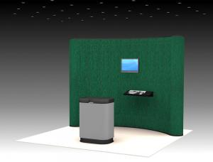 QD-113a Trade Show Pop Up Exhibit
