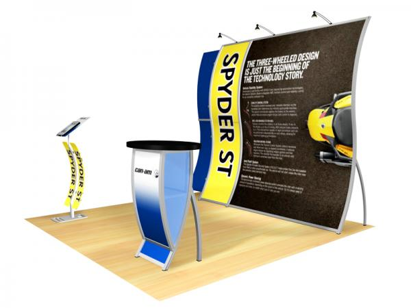 Perfect 10 Portable Hybrid Trade Show Display -- Image 3