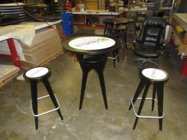 Table and 2 Stool Kit