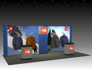QD-216 Tradeshow Pop Up Display