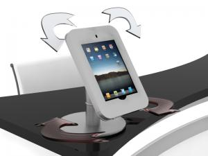 MOD-1371 Rotating iPad Counter Stand (Silver)