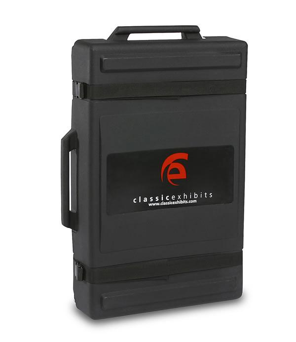 "UPGRADE TO: DI-908 Medium Intro Portable Roto-molded Case with Wheels (24"" x 38"" x 8"")"